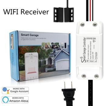 WiFi to Remote RF Converter Switch Garage Door Controller Garage Door Opener APP Remote Control WIFI garage gate door remote 433 overhead garage door opener