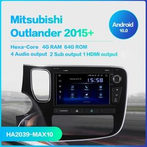 "Image 2 - Dasaita 8 ""Android 10 OCTA Core GPSสำหรับรถยนต์สำหรับMitsubishi Outlander 2014 เครื่องเล่นDVD STEREO Auto Radio HEAD UNITมัลติมีเดียวิดีโอ"