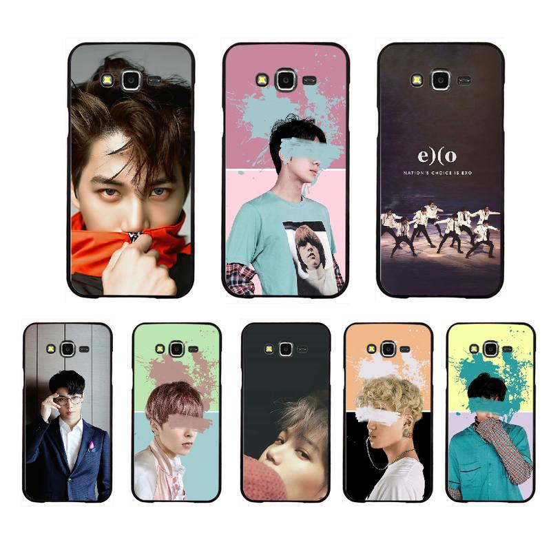 NBDRUICAI <font><b>Kpop</b></font> EXO <font><b>Coque</b></font> Shell Phone Case For <font><b>Samsung</b></font> Galaxy J7 J8 J3 J4 J5 <font><b>J6</b></font> <font><b>Plus</b></font> 2018 Prime image