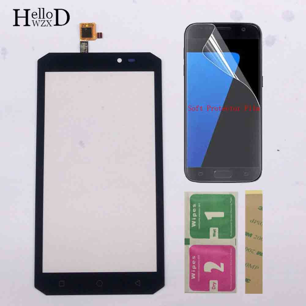 Touch Screen Panel For OUKITEL K10000 Max Touch Screen Digitizer Panel Repair Front Glass Lens Sensor 3M Glue + Protector Film|Mobile Phone Touch Panel| |  - title=