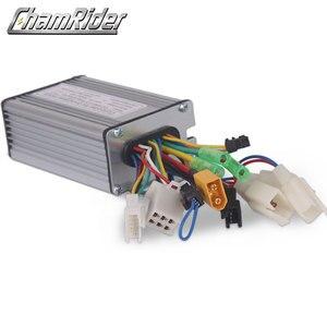 Image 4 - 電動自転車36v 48v 500ワット電動自転車ブラシコントローラデュアルモードホールセンサとホールセンサレスktシリーズサポートled液晶