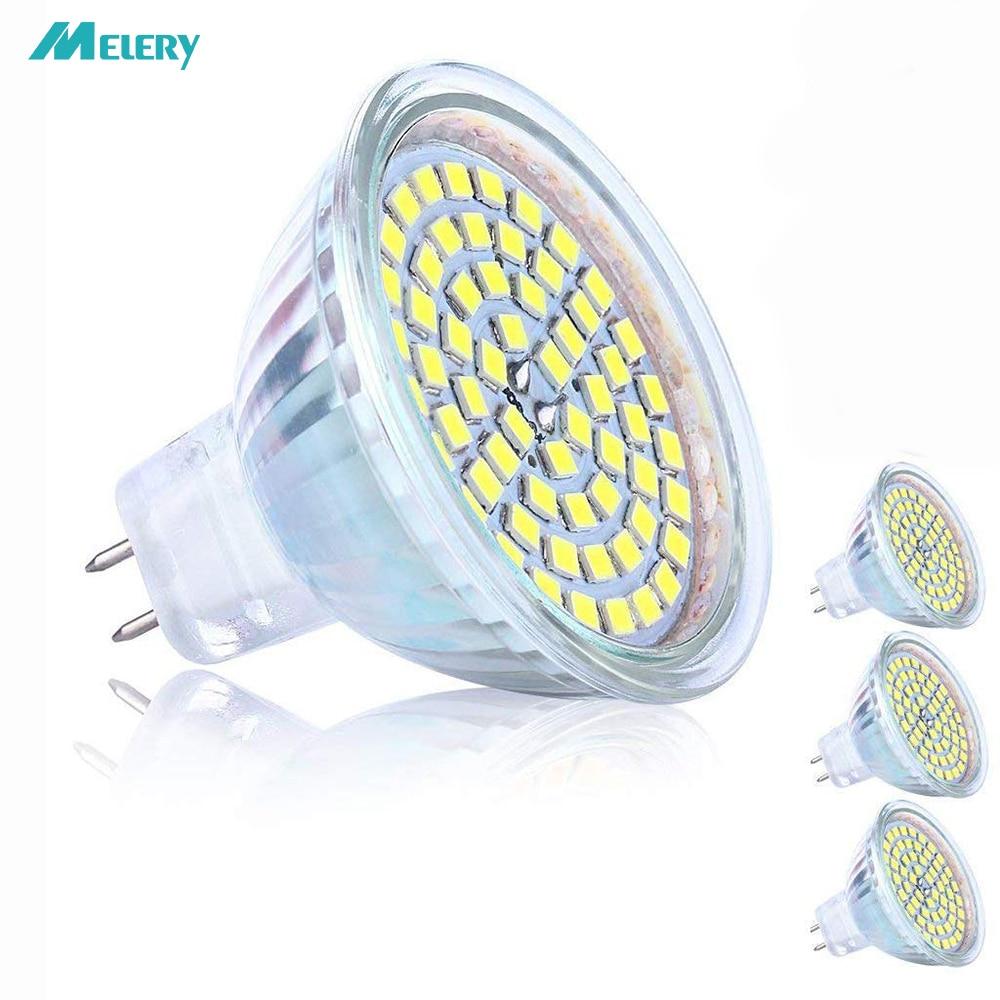 MR16 светодиодный светильник лампы GU5.3 природа белый 3000K холодный 6000K 5W равный 50W галогенный эквивалент AC/DC 12V лампа 3 пакета [класс энергии A +]