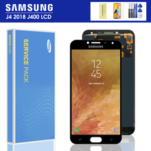 j400f LCD For Samsung Galaxy J4 J400 J400F J400G/DS SM-J400F LCD Display Touch Screen Digitizer Assembly Brightness Control