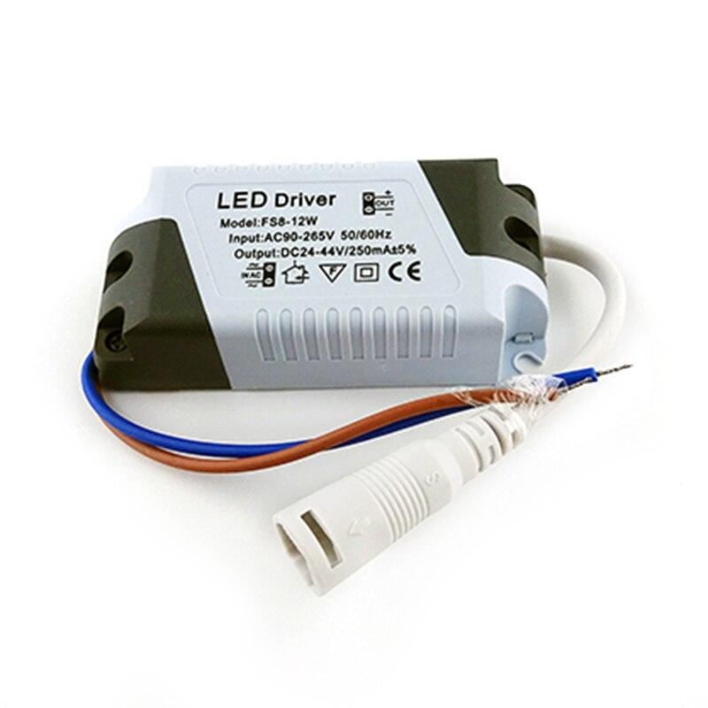 Светодиодный драйвер 3W 4-7W 8-12 Вт 13-18 Вт 18-24 Вт безопасный Пластик в виде ракушки светодиодный драйвер блок питания Трансформаторы адаптер для...
