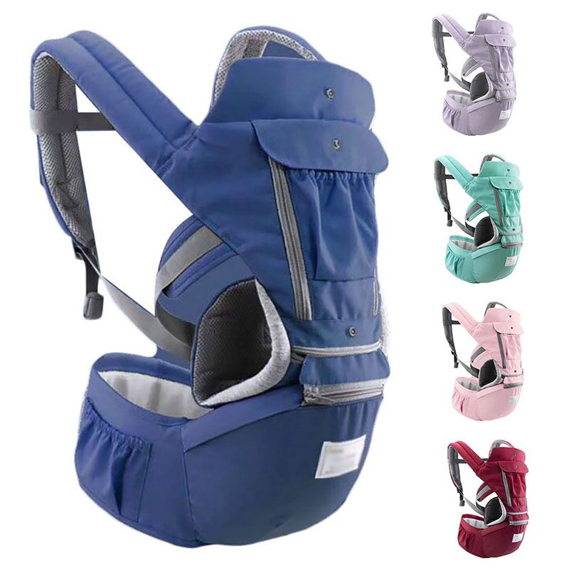 Ergonomic Baby Carrier Infant Kid Baby Hipseat Sling Front Facing Baby Wrap Carrier For Baby Travel 0-36 Months