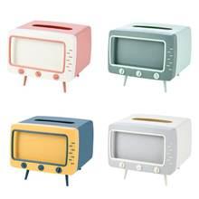 Творческий ТВ с одноразовыми салфетками для рабочего стола дозатор