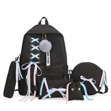 SHUJIN Large School Bags For Teenage Girls Usb With Lock Ant