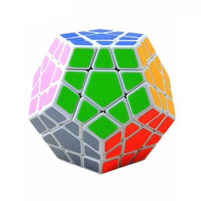 Megaminxマジックキューブパズルスムーズパズルゲーム魔方陣ジュエランファンクリスマス教育玩具子供のギフトAA50MF