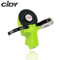 Green Color MoTex E101 Printer Mini DIY Hand compatible for dymo 3D embossing manual Tape Manual Typewriter lettering machine|Printer Ribbons| |  -