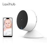 Laxihub 1080P telecamera IP Wifi Webcam Mini telecamera interna per telecamera di sorveglianza domestica/animale domestico Baby Monitor e Cloud Kamera telecamera Wifi