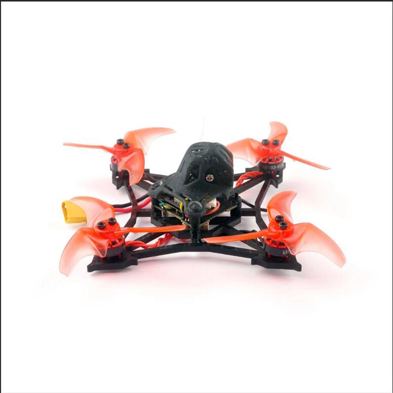 Happymodel larve X 2 3S 100mm 2.5 pouces Drone de course sans brosse FPV crazy ybee F4 PRO V3.0 AIO FC caméra 25mw ~ 200mw VTX GNB 520mah - 3