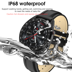 Image 4 - L7 L8 Bluetooth Smart Watch For Men Ecg+Ppg Hrv Heart Rate Blood Pressure Monitor Ip68 Waterproof Smartwatch Android Ios