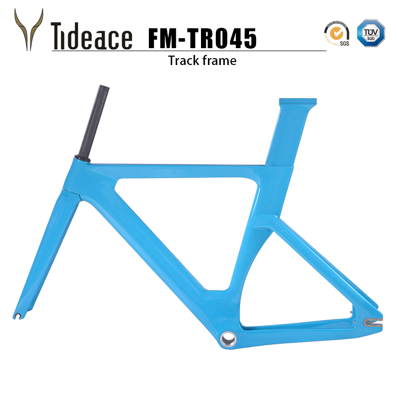 2019 Carbon Track Frame Carbon Fiber Fixed Gear Bike Frame Carbon Racing Tracking Bike Frameset 49/51/54/57cm With Fork Seatpost