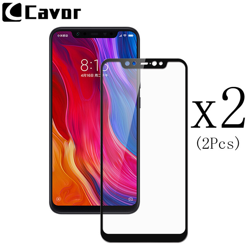 Tempered Glass Screen For Xiaomi Mi 8 Pro 8 SE 6 A1 A2 Lite Mix2S Case Full Cover Mobile Accessories Protector Anti Shatter Film