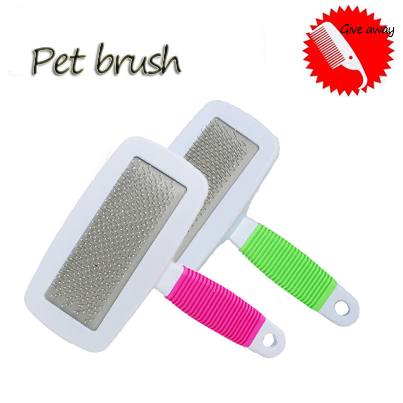 Pet Removes Hairs Cat and <font><b>Dog</b></font> Comb Hair Short Medium Cat Brush <font><b>Paw</b></font> <font><b>Cleaner</b></font> Cat Comb For Cats Grooming Comb Trimmer Hair Brush image