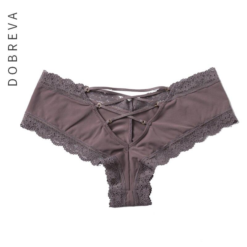 DOBREVA Underwear Women Sexy Panties Briefs Female Underwear Seamless Lingerie