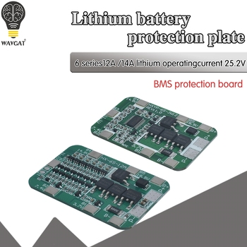 6S 15A/25A 24V 25.2V PCB BMS Protection Board For 6 Pack 18650 Li-ion Lithium Battery Cell Module New Arrival 1