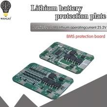 6s 15a/25a 24v 25.2v pcb bms placa de proteção para 6 pacote 18650 li-ion bateria de lítio módulo de célula nova chegada