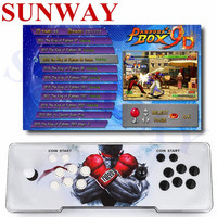 Pandora's box 9D 2500 in 1 Arcade game console support 3P 4P tekken 1 game usb gamepad Plug and play support 3d game for Home/TV