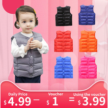 Kids Baby Coat Vest Outwear Jacket Boys Light Warm Children's Waistcoats For Boy Girl Cotton Winter Autumn Toddler Coat Clothes al1 al2 al3 alb alc ncp5911mntbg ncp5911