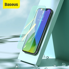 Baseus Transparent Protective Glass Screen Protector For iPhone 12 Pro Max Eye Protection Full Coverage Tempered Glass Film