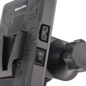 Image 3 - BP adaptateur de batterie arrière V plaque de montage de verrouillage pour Sony d tap DSLR Rig externe
