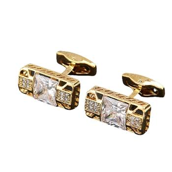 Rhinestone Luxury  Men's Cufflinks  6
