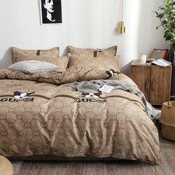יוקרה מצעים סטי שמיכה כיסוי הציפית סדין כיסוי מיטה שמיכת כיסוי חדש סט מצעים עבור בית