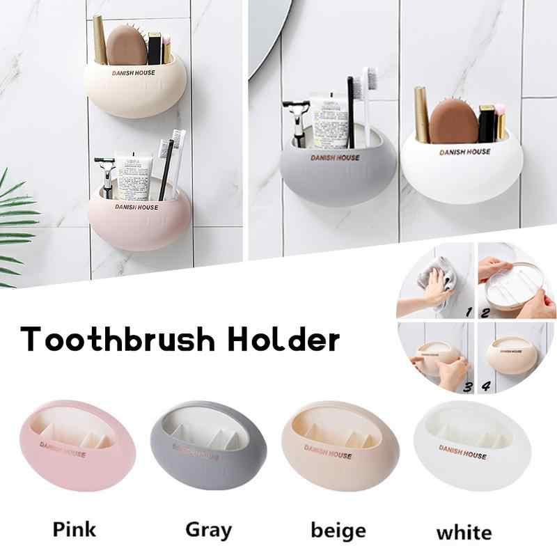 Łazienka zestaw akcesoriów uchwyt na szczoteczki do zębów z ściany ssania puchar prysznic stojak śliczne przyssawka uchwyt na szczoteczkę do zębów hak z przyssawką