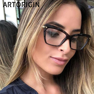 Chic Butterfly Eyeglasses For Women Transparent Clear Glasses Ladies Optical Plastic Frame Fashion Gift 2019