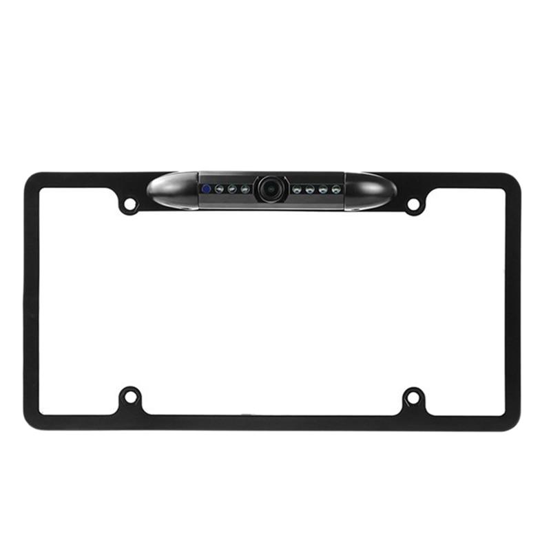 Американская автомобильная рамка для номерного знака, запасная камера заднего вида, камера заднего вида для автомобиля, Rvs, угол 170 градусов, с динамическим треком