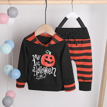 Holiday Clothes Baby Sets Halloween New Arrival  Sweatshirts Winter Spring Autumn Children Hoodies Long Sleeve Kids