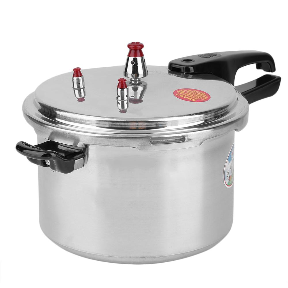 Composite Bottom Large 6 Quart Aluminum Alloy Pressure Cooker Fast Cooking Pot Pan Kitchen Tool Cookware