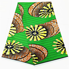 цена Ankara Dutch wax African Wax prints fabric Nigeria veritable real wax 100% pure cotton в интернет-магазинах