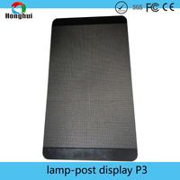 Lamp post traffic signs billboard signs signs to navigation signs led lighting led outdoor display P3 P4 outdoor display