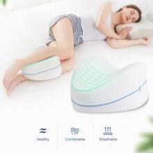 Подушка для ног из хлопка с эффектом памяти, Ортопедическая подушка для сна, Ортопедическая подушка для ног, Ортопедическая подушка для ног, подушка с эффектом памяти