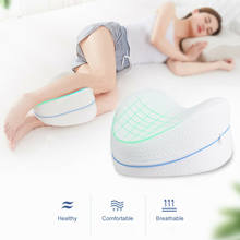 Memory Cotton Leg Pillow Sleeping Orthopedic Sciatica Back Hip Joint Pain Relief Thigh Leg Pad Cushion Home Memory Foam(China)