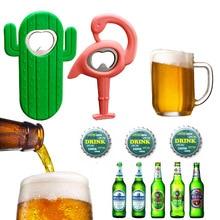 Bottle-Opener Soda Bar-Tool Beer Cactus New Claw 1pc Flamingo Hot-Sale Stylish