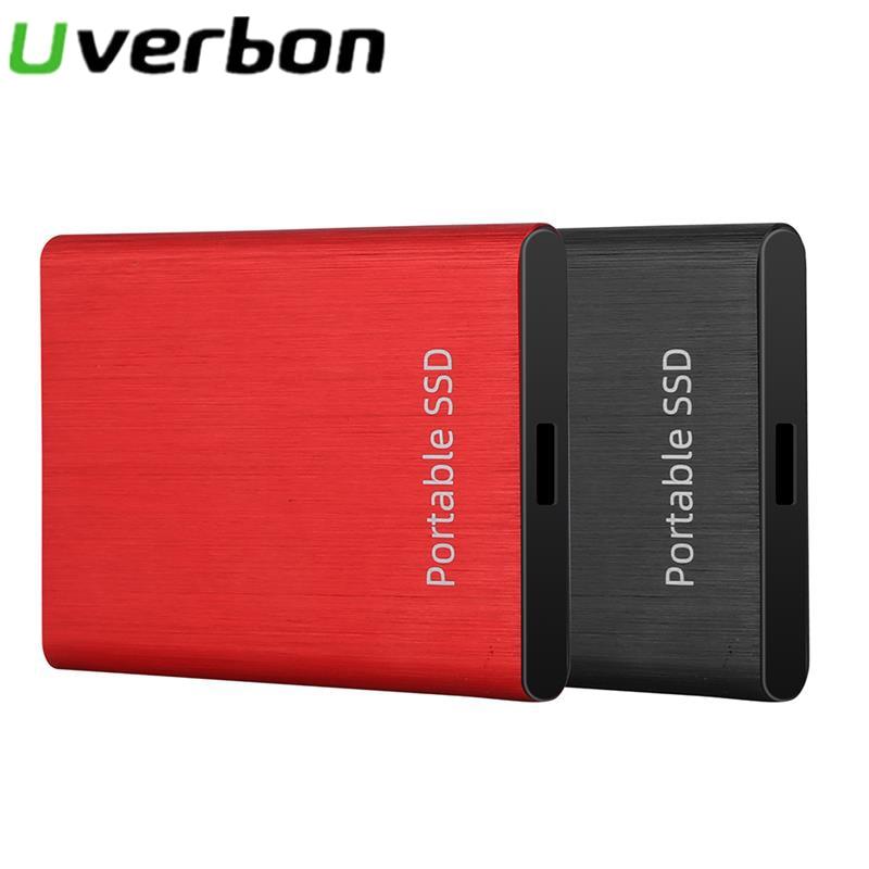 USB 3,0 жесткий диск SSD Внешний жесткий диск 2,5 дюймов Портативный 2 ТБ/1 ТБ/500 Гб мобильный HD однотонные жесткими дисками для ноутбука, настольно...