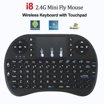 Russian Air Mouse Mini Wireless Keyboard Hebrew Touchpad Keyboards Remote Control for Android TV BOX PC PS3 Gamepad t2 c wireless russian keyboard with multimedia remote control flying mouse keyboard 2 4ghz usb rechargeable android remote contr