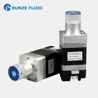Microfluidic 2 Way Electronic Solenoid Valve 24v ON/OFF Control Feedback Signals 1.2Mpa High Pressure Resistance Sapphire Spool
