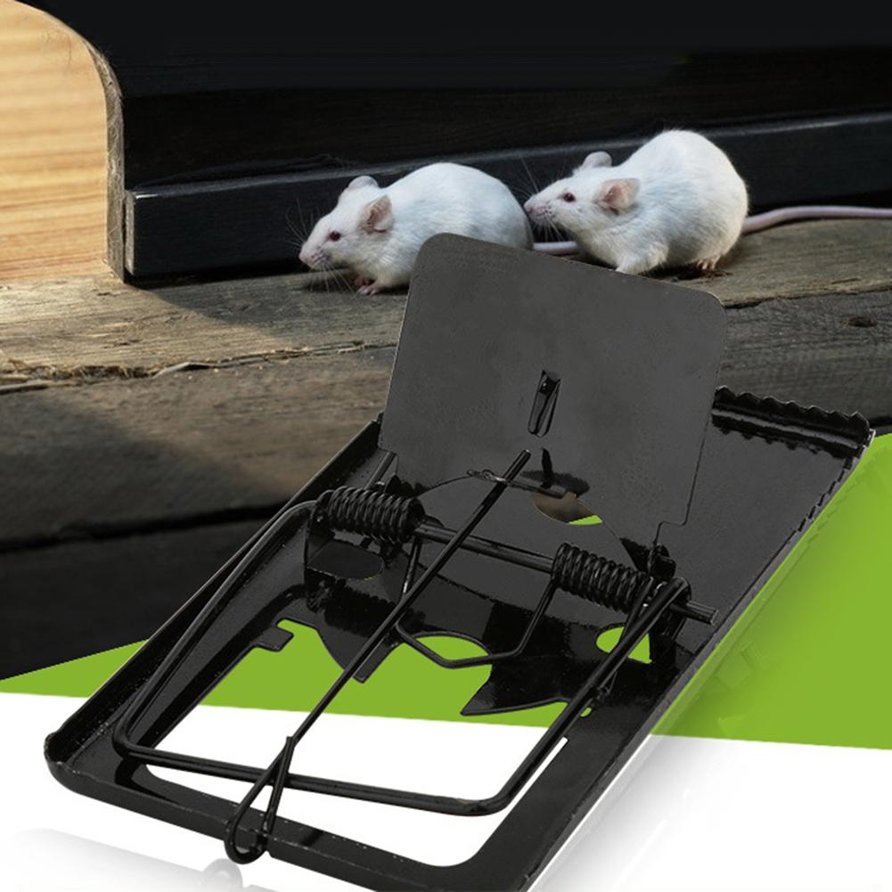 Household Reusable Sensitive Rat Mouse Trap Catcher Mice Bait Snap Spring Clamp Clip Catching Mice Mousetrap Rodent Pest Control