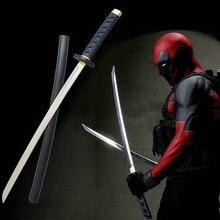 61cm filme deadpool cosplay equipamentos de espuma do plutônio espada estágio propriedade modle brinquedo larp festa traje acessórios