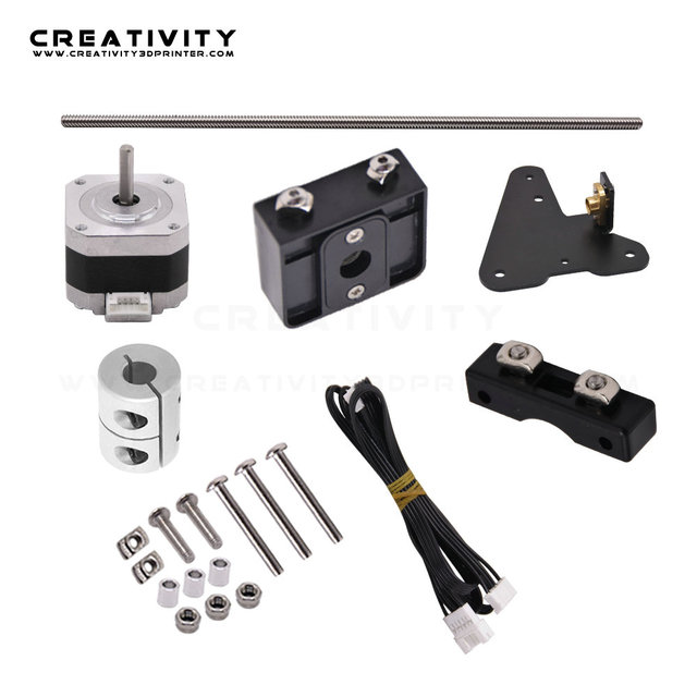 Dual Z Axis Lead Screw Upgrade Kits for Ender3 Ender3S CR10S CR10 3D Printer Accessories impressora 3d ender 3 pro dual z axis 3