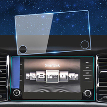 Car display touch Glass Protective Film155*81mm LCD Gurad car gps navigation Screen Sticker Protective for mazda Car Styling