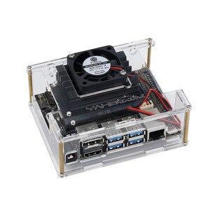 Image 4 - Jetson ננו מפתחים ערכת הדגמת לוח AI פיתוח לוח פלטפורמת A02 גרסה + מקרה + מאוורר + 32G SD כרטיס + DC כוח מתאם + AI מצלמה