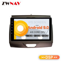 Dsp Android 9.0 Auto Gps Navigatie Auto Geen Dvd-speler Voor Ford Ranger 2015-2018 Auto Stereo Radio tape Recorder Head Unit(China)