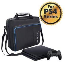 휴대용 가방 여행 가방 전체 세트 액세서리 게임 배낭 PS4 게임 컨트롤러 콘솔 방수 가방