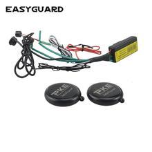 EASYGUARD RFID רכב אלחוטי אימובילייזר אבטחת מערכת עם מנוע נעילה אוטומטית או לפתוח אופנוע אימובילייזר מערכת