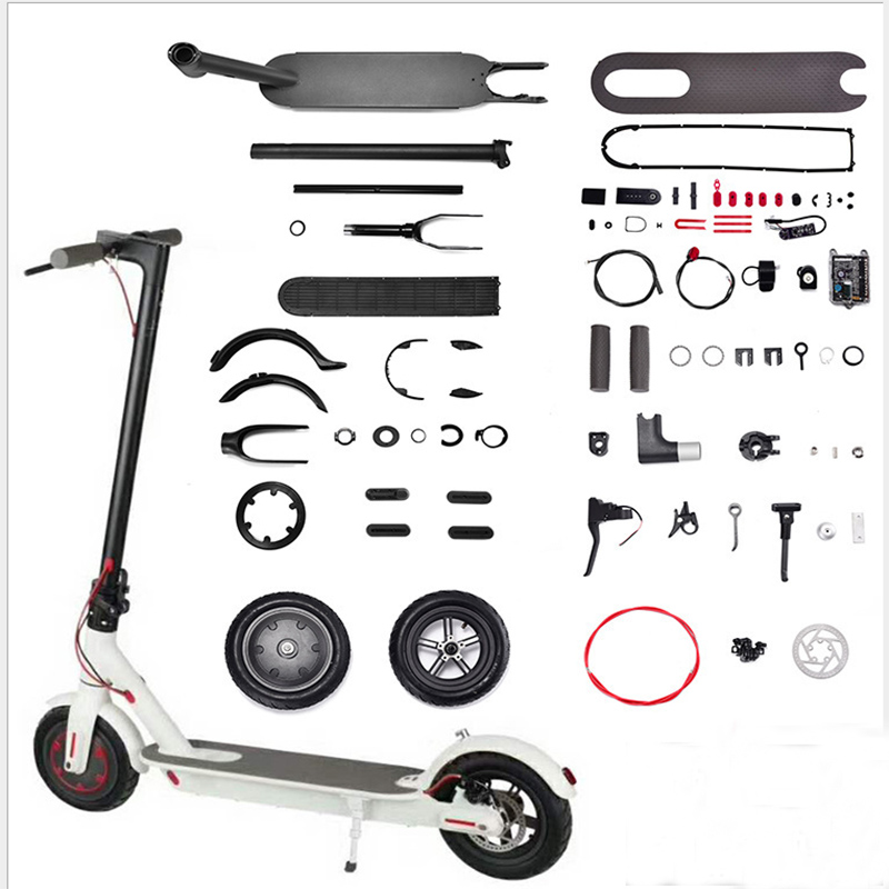 Electric Scooter All Parts For Xiaomi M365 Repair Replacement Fender Screws Bell Brake Handle Disc Brake For Patinete